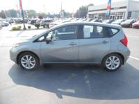 Come see this 2014 Nissan Versa Note . Its transmission