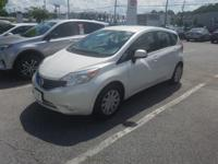 We are excited to offer this 2014 Nissan Versa Note.