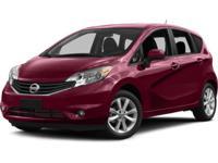 ~~ 2014 Nissan Versa SV ~~ CARFAX: 1-Owner, Buy Back