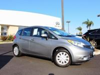 Options:  2014 Nissan Versa Note Sv|Gray|15 Steel
