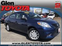 CARFAX One-Owner. Clean CARFAX. 2014 Nissan Versa 1.6 S