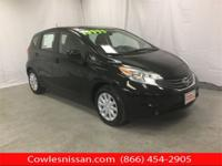 CARFAX One-Owner. Super Black 2014 Nissan Versa Note S