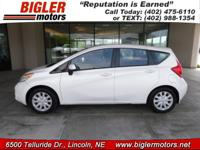 Meet our Clean CarFax 2014 Nissan Versa Note S Plus