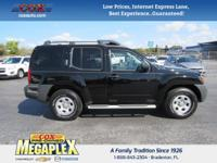 This 2014 Nissan Xterra S in is well equipped with: