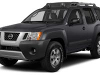 This 2014 Nissan Xterra S features a a power outlet,