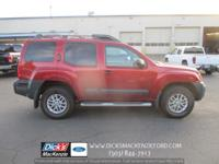 Take command of the road in the 2014 Nissan Xterra!