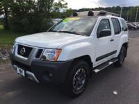 Xterra PRO, 4.0L V6 DOHC, 5-Speed Automatic, and 4WD.