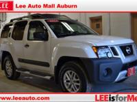 White 2014 Nissan Xterra S 4WD 5-Speed Automatic 4.0L