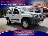 Options:  2014 Nissan Xterra Pro-4X| |Dual-Stage