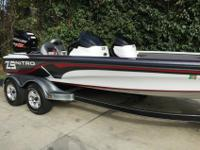 Performs and fishes extremely well gelcoat hull and