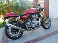 2014 NORTON COMMANDO 961 SPORT. BETTER THAN NEW SINCE I