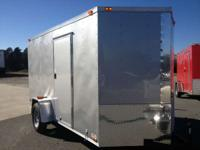2014 Other New 6x10 VNose Enclosed Trailer New 6x10