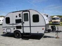 This Palomino PaloMini lite travel trailer model 177BH
