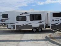 Brand New 2014 PUMA Bunkhouse 5th Wheel. Designed with