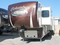 2014 Palomino RV Columbus M-375RL. Purchased a 2014