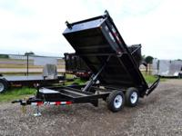 2014 PJ 78x12 Medium Duty Dump Trailer (4.33 Cu/Yd). 2