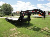 2014 PJ Gooseneck Utility Trailer 30ft Low Pro with