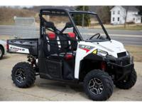 2014 Polaris Ranger XP 900 EPS White Lightning LE, Save