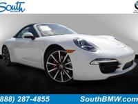 Options:  2014 Porsche 911 4S|White/|V6 3.8 L