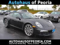 2014 Porsche 911 Carrera Black Clean CARFAX. 911