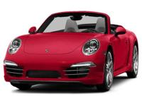 Options:  2014 Porsche 911 Carrera S|Miles: 15000Color: