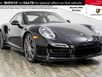 Beverly Hills Porsche is pleased to present this One