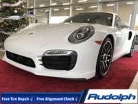 PRICE CHANGE, 911 Turbo S, 2D Coupe, 3.8L 6-Cylinder