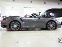 2014 Porsche 911 Turbo S Cabriolet Grey Metallic