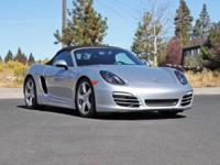 Check out this gently-used 2014 Porsche Boxster we
