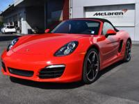 New Arrival! CARFAX 1-Owner! This 2014 Porsche Boxster