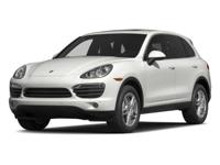 Options:  2014 Porsche Cayenne|Silver/|V6 3.6 L