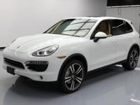 This awesome 2014 Porsche Cayenne 4x4 comes loaded with