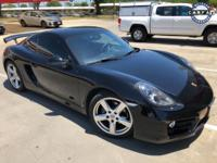 Clean CARFAX. Black 2014 Porsche Cayman RWD 7-Speed