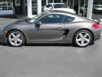 *LOW MILES* *This 2014 Porsche Cayman Base will sell