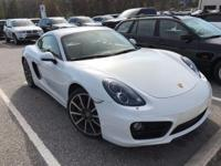 We are excited to offer this 2014 Porsche Cayman. This