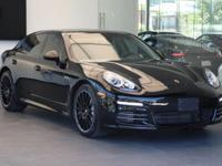 This 2014 Porsche Panamera 4S is equipped with: All