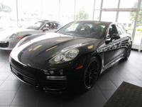 2014 Porsche Panamera Turbo Black Clean CARFAX