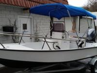 ,,,,,2014 PowerSkiff 1500 Center Console boat with 40hp