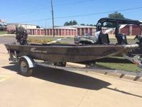 2014 ProDrive Xseries 16x48 boat. Boat is powered by a