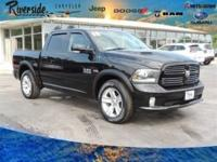 New Price! CARFAX One-Owner. 2014 Ram 1500 Sport