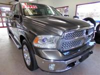 CREW CAB LARAMIE 4X4 W/SUNROOF - CERTIFIED,PRICE JUST