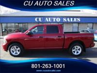 CU Auto Sales is pleased to offer this 2014 Dodge Ram