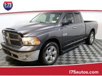 Clean CARFAX. sterling 2014 Ram 1500 RWD 8-Speed