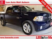2014 Ram 1500 Blue Ram Certified. CARFAX One-Owner.