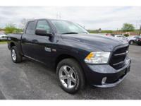 CARFAX One-Owner. Black 2014 Ram 1500 Express 4WD