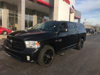 CARFAX One-Owner. Black Clearcoat 2014 Ram 1500 Express