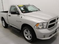 ONLY 13K ONE OWNER, HEMI POWERED, 4X4 MILES,