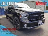Ram Factory Certified, CARFAX One-Owner, Black Express