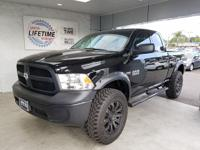 2014 Ram 1500 four-wheel drive Tradesman, with only