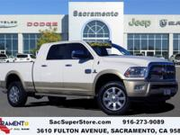 2014 Ram 2500 Laramie Longhorn CARFAX One-Owner. Bright